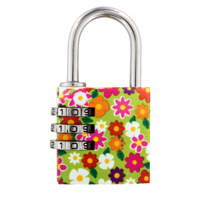 Cadenas à combinaison - Lock Me Up Little Flowers