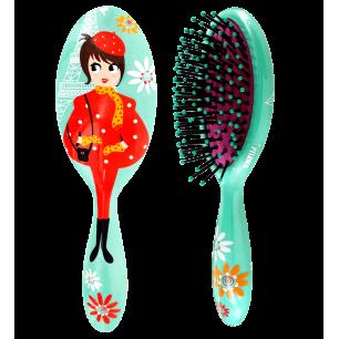 Petite brosse à cheveux - Ladypop Small Enfants Petite Parisienne