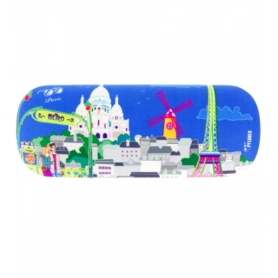 Hard glasses case - Beau Regard Paris Bleu