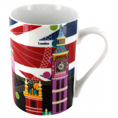 Beau Mug - Henkeltasse London