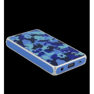 Batteria portatile 5000mAh - Get The Power 2 Camouflage Camouflage Blue
