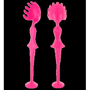 Spaghetti spoon - Miss Pasta Pink