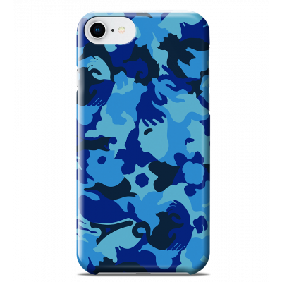 Case for iPhone 6S/7/8 - I Cover 6S/7/8 Camouflage Camouflage Blue