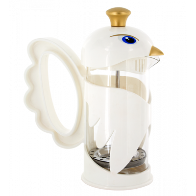 Cafetiere - Morning Flight White