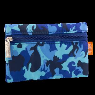 Purse - Mini Purse Camouflage Camouflage Blue