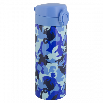 Thermobecher - Keep Cool Click Camouflage Camouflage Blue