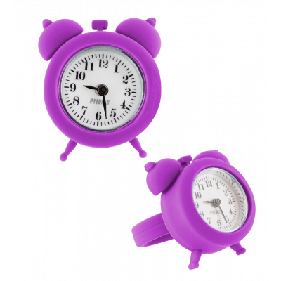 Bague montre / horloge - nano watch Violet