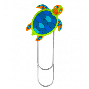 Large bookmark - Ani-bigmark Turtle