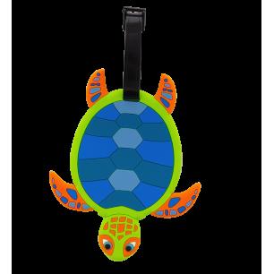 Luggage label - Ani-luggage Turtle