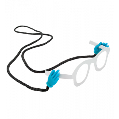 Oh! Les mains! - Glasses cord Blue