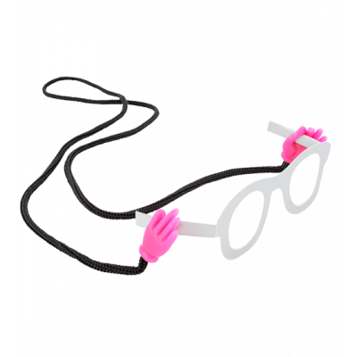 Oh! Les mains! - Glasses cord Pink