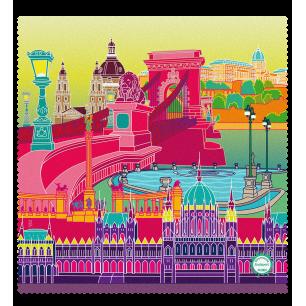 Tissu microfibre pour lunettes - Belle Vue City Budapest 2