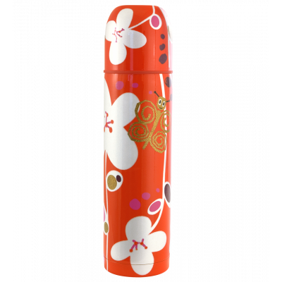Thermal flask - Mini Keep Cool White Flower