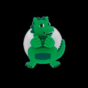 Support porte brosse à dents - Ani-toothi Dragon Vert
