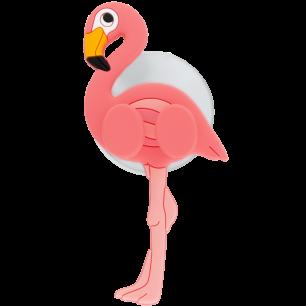 Support porte brosse à dents - Ani-toothi Flamingo