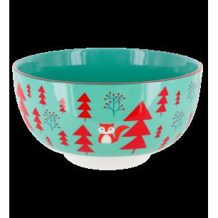 Petit saladier en porcelaine - Matinal Soupe Winter Spirit