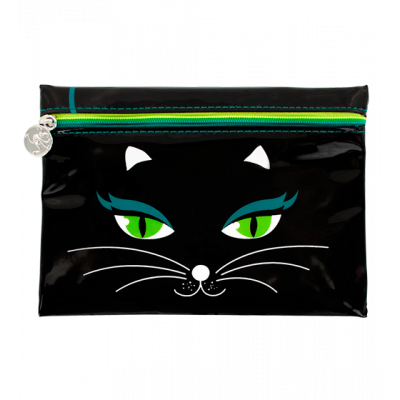 Make-up-Beutel - Akademik Black Cat