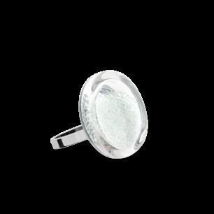 Anello in vetro - Cachou Nano Billes Cristallo