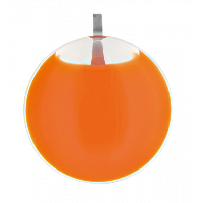 Pendentif - Galet Medium Milk Orange