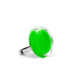 Glasring - Cachou Nano Milk Dunkelgrün