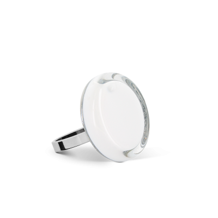 Glasring - Cachou Nano Milk Weiss