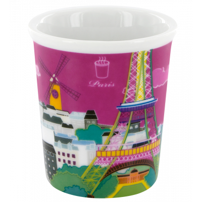 Tasse expresso - Belle Tasse Paris rose
