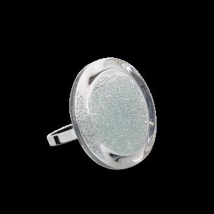 Glass ring - Cachou Mini Billes Crystal
