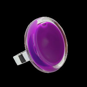 Glasring - Cachou Medium Milk Violett