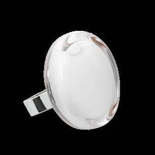 Glasring - Cachou Medium Milk Weiss