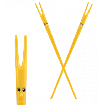 Ping Pong - Chopsticks Yellow