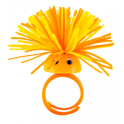 Pom Pom Girl Medium - Anello Arancione