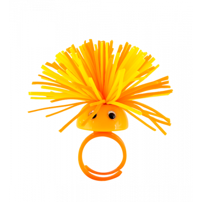 Ring - Pom Pom Girl Small Orange