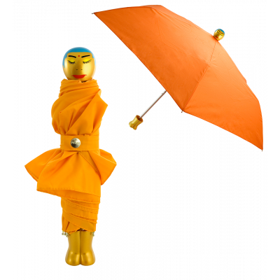 Rain Parade - Parapluie pliant Orange