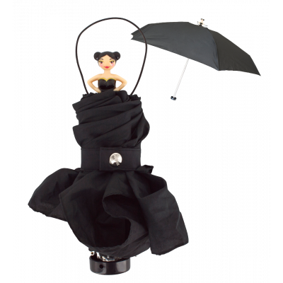 Compact umbrella - Rainette Black