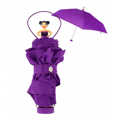 Compact umbrella - Rainette Purple