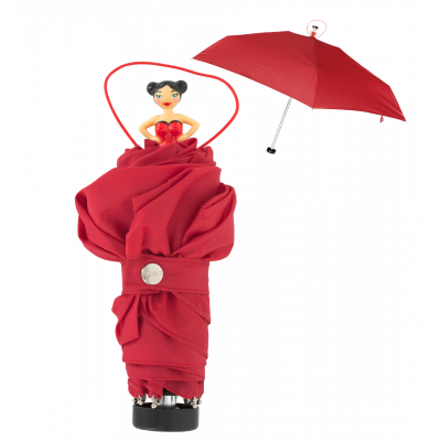 Compact umbrella - Rainette Red