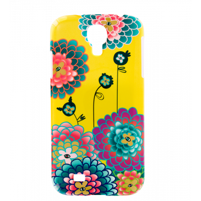 Sam Cover S4 - Case for Samsung S4 Dahlia