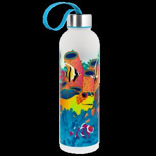 Trinkflasche 80 cl - Happyglou Large Fluocéan