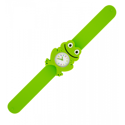 Montre slap - Funny Time Grenouille