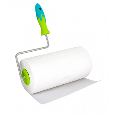 Splash - Kitchen roll dispenser Green