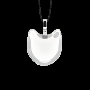 Necklace - Cat nano milk White
