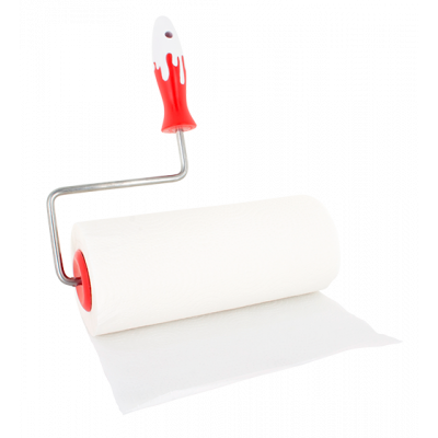 Splash - Kitchen roll dispenser Red