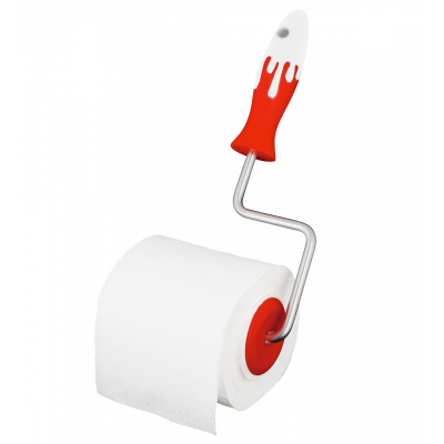 Toilet paper holder - Sploosh Red
