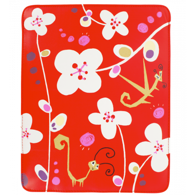 Tablet cover - Voyage White Flower