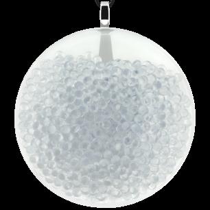 Necklace - Galet Giga Billes Crystal