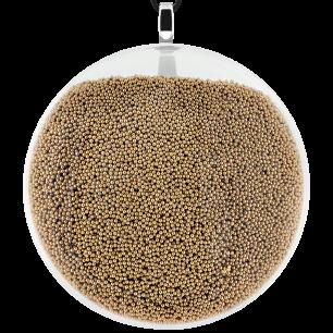 Necklace - Galet Giga Billes Gold