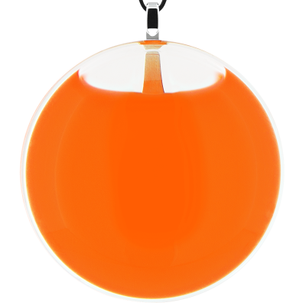 Kettenanhänger - Galet Giga Milk Orange