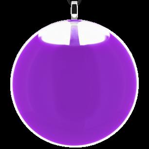 Kettenanhänger - Galet Giga Milk Violett