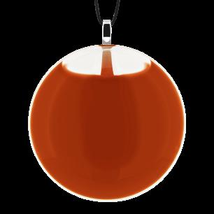 Necklace - Galet Medium Milk Rust