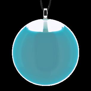 Necklace - Galet Medium Milk Turquoise